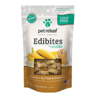 Pet Releaf CBD Hemp Oil Peanut Butter and Banana Edibites